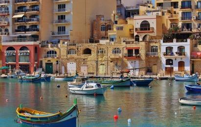 Port de Marsaxlokk avec ses Luzzi