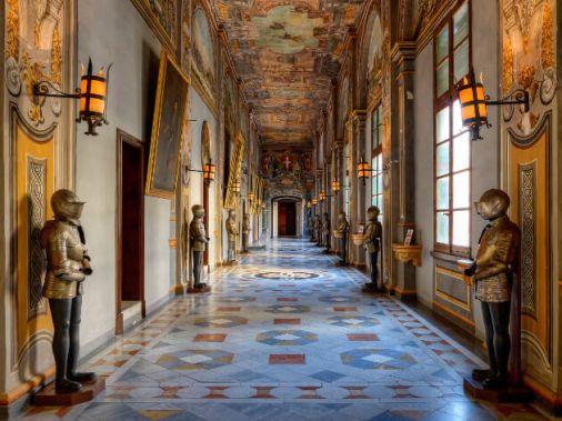 Couloir du Palais du Grand Maître à La Valette, Malte